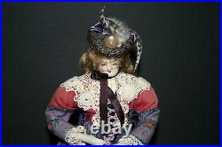 1920-40's fashion lady doll 12 New Orleans Civil War Lass historical costume