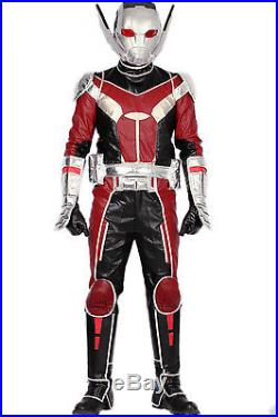 2016 Antman Costume Captain America Civil War Ant Man Cosplay Fight Suit&Props
