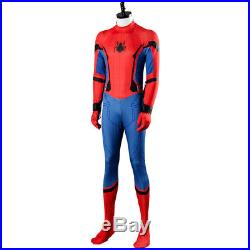 2017 Movie Spider-Man Homecoming Spiderman Civil War Cosplay Costume Outfit Suit