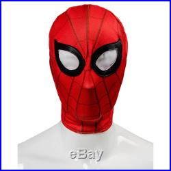 2019 Movie Spider-Man Homecoming Spiderman Civil War Cosplay Costume Outfit Suit