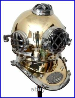 Antique US Navy Mark V Vintage Solid Brass Sea Divers Halloween/Cosplay Costume
