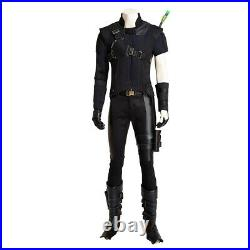 Captain America 3 Civil War Hawkeye Clint Barton Cosplay Costume Deluxe Outfit