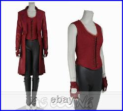 Captain America 3 Civil War Scarlet Witch Cosplay Wanda Maximoff Cosplay Costume