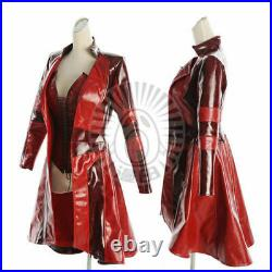 Captain America 3 Civil War Scarlet Witch Crimson Witch Wanda cosplay suit