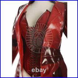 Captain America 3 Civil War Scarlet Witch Crimson Witch Wanda cosplay suit&fg