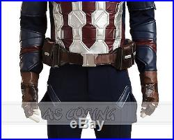 Captain America 3 Civil War Steven Rogers Cosplay Costumes Cosplay Outfit