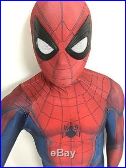 Captain America Civil War Spider-Man 3D Printing Muscle Shading Cosplay Costume