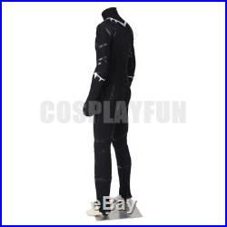 Captain America Civil War T'Challa Black Panther Cosplay Costume Full Set
