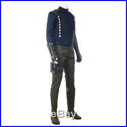 Captain America Civil War The Winter Soldier Cosplay Costume