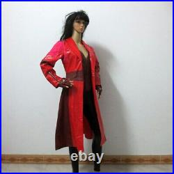 Civil War Cosplay Costumes Wanda Maximoff Scarlet Witch Cosplay Costume
