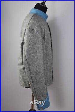 Civil War Re-Enactment Costume Jacket Grey and Blue Private Infantry