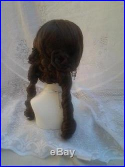 Civil war Victorian wig color choices sass reenactor theater