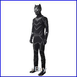 Cosonsen Black Panther T'Challa Cosplay Captain America 3 Civil War Costume