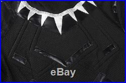 Exclusive Captain America 3 Civil War Black Panther Cosplay Costume Custom Size