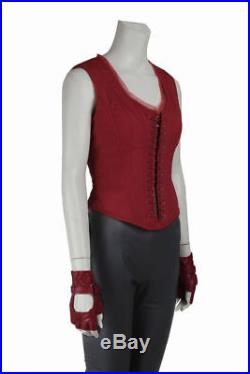 Halloween Captain America 3 Civil War Scarlet Witch Cosplay Costume Full Set