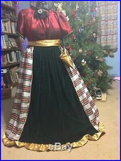 Homemade Ladies Victorian/ Civil War Christmas outfit