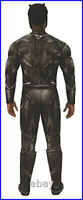 Men's Marvel Civil War Black Panther Deluxe Muscle Chest Costume