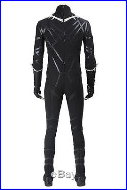 New Black Panther Cosplay Costume Captain America 3 Civil War Costume Cos Shoes
