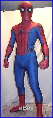 New Civil War Homecoming Spider-man 3D-Printing Muscle shading Costume