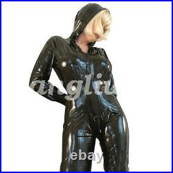 New style Latex Rubber Women Many types Handsome catsuit 0.4mm Size S-XXL
