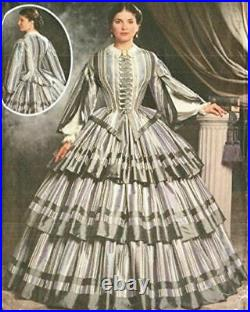 Simplicity Sewing Pattern 9761 Misses Civil War Dress / Gown 14-20
