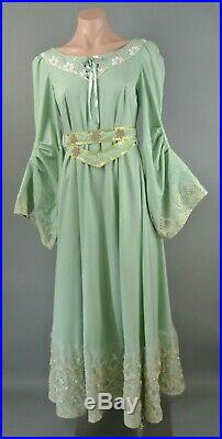 Victorian Costume Dress For Stage S Mint Green Renaissance 1041