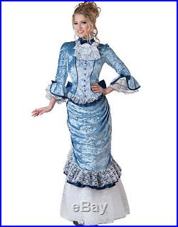 Victorian Lady Gone With The Wind Civil War Sexy Womens Halloween Costume L