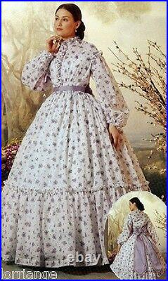 Victorian/civil War Custom Made Lined Bodice And Skirtcostume Theatrical