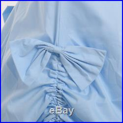 Vintage Victorian Dress Sleeveless Ball Gown Southern Belle Cosplay 5 Colors
