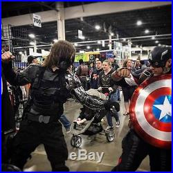 Winter Soldier Cosplay Arm Finished Civil War Costume Arm Lightweight Plastic