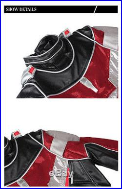 XCOSER Film Ant Man Costume Captain America Civil War Cosplay Fight Outfit Set