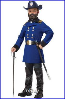 (X-Large, One Color) California Costumes Union General Ulysses S. Grant Boy